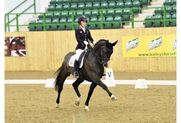 sophie wells 2 1 360x245 - Olympic medallists Dujardin, Hester and Wilton clean up in the Hazlewoods FEI CDI Grand Prix at Hartpury Festival of Dressage