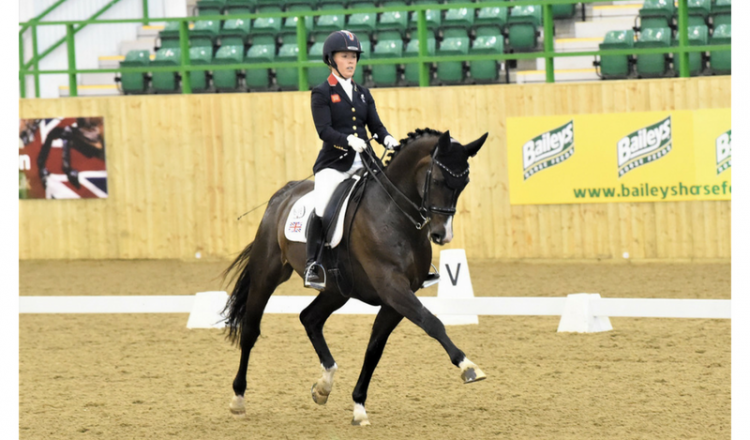 sophie wells 2 1 750x440 - Olympic medallists Dujardin, Hester and Wilton clean up in the Hazlewoods FEI CDI Grand Prix at Hartpury Festival of Dressage