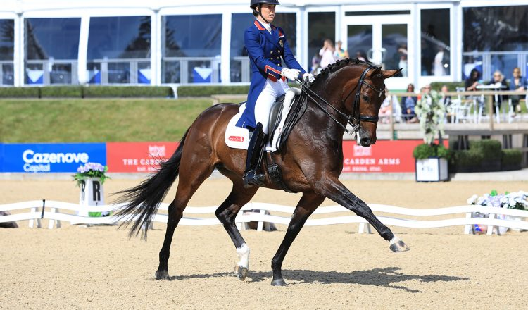 Charlotte Dujardin and Mount St John Freestyle in winning mode 750x440 - The Equerry Bolesworth International Horse Show Secures Prestigious Award