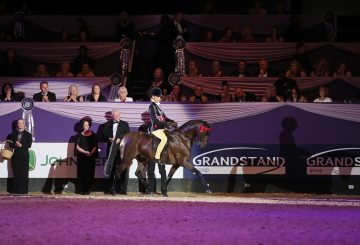 Class 40 Kathleen Wood Childrens Riding Pony of the Year Championship 2 360x245 - It's a night to remember for the Till family in the Kathleen Wood Children's Riding Pony of the Year