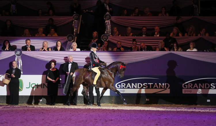 Class 40 Kathleen Wood Childrens Riding Pony of the Year Championship 2 750x440 - It's a night to remember for the Till family in the Kathleen Wood Children's Riding Pony of the Year