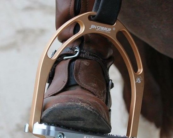 JS Autumn Copper 550x440 - New design 'anatomic' Jin Stirrup available at Equissentials Dressage