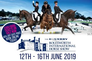 On Sale Graphic 300x200 - The Equerry Bolesworth International Horse Show Early Bird Tickets On Sale Now