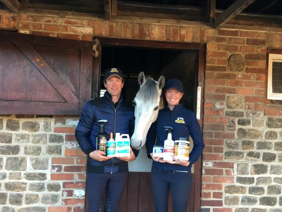 Emma and Kevin with Scuderia 1918 Humphrys  - Absorbine® Announces Sponsorship Renewal with McNab Eventing