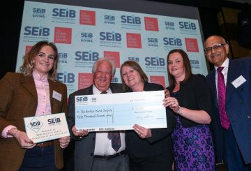 First SEIB Awards PN18 13387 360x245 - SEIB Insurance Brokers to give £100K to charity