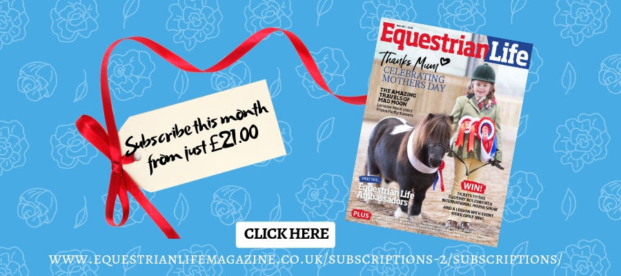 Subscribe this month from just £21.00 - Training for Leg Yield with Maria Eilberg