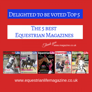VOTED 300x300 - Equestrian Life Voted TOP 5 Best Equestrian Magazines