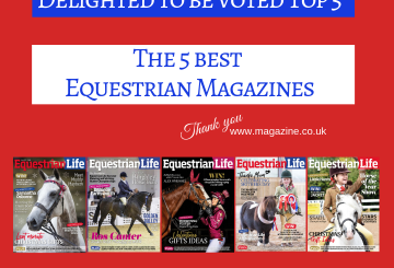 VOTED 360x245 - Equestrian Life Voted TOP 5 Best Equestrian Magazines