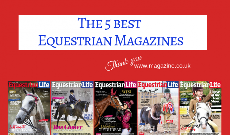 VOTED 750x440 - Equestrian Life Voted TOP 5 Best Equestrian Magazines