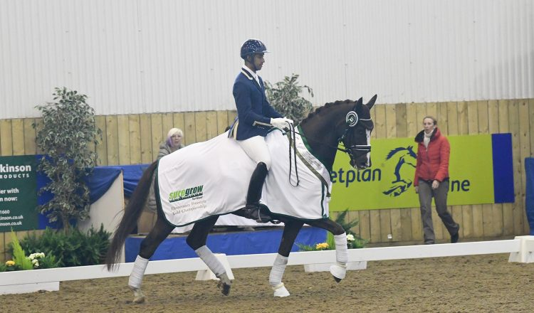 Dannie Morgan and Headmore Figaro take the honours. 750x440 - Suregrow Elementary Freestyle Gold Championship