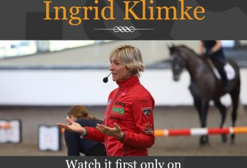 Ingrid Klimke 360x245 - New Masterclass with Eventing and Dressage Legend Ingrid Klimke on Horse & Country