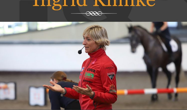 Ingrid Klimke 750x440 - New Masterclass with Eventing and Dressage Legend Ingrid Klimke on Horse & Country