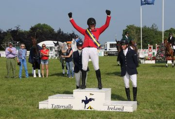 Paul Tapner 360x245 - 35,000 expected to visit Tattersalls International Horse Trials and Country Fair
