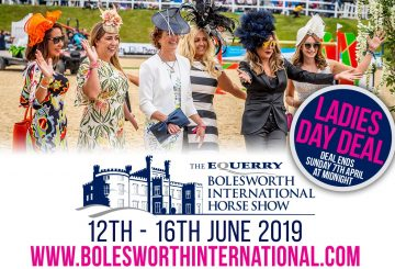 ladies Day deal graphic 360x245 - Enjoy Ladies Day at Bolesworth International