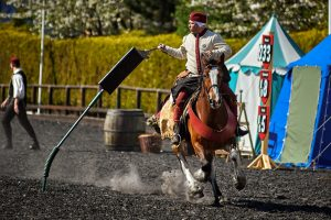 AYP 0011 Michal Ruda POLAND 300x200 - Royal Armouries  in Leeds hosts Jousting teams
