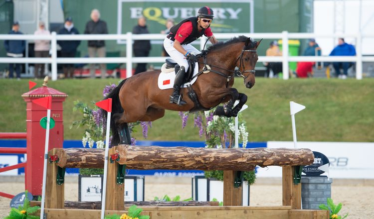 Alex Hua Tian in the Eventing Grand Prix 750x440 - Captain Mark Phillips To Build At Exciting New Three-Leg Eventing Grand Prix Series
