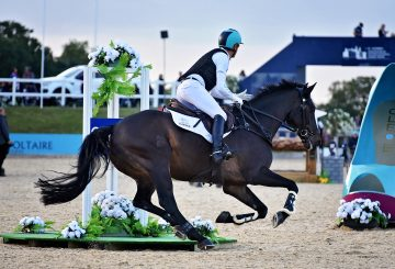 Andrew Hoy in the Eventers Grand Prix 360x245 - Leading Event Riders to Tackle Bolesworth Eventing Grand Prix