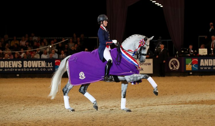 Class 34 Dressage Future Elite Championship Prizegiving 3 750x440 - Derby House named as the NEW Rug Supplier for Horse of the Year Show