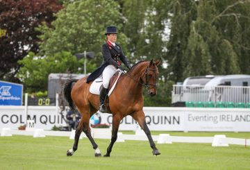 Pippa Funnell MGH Grafton Street leader after dressage The Irish Field CCI4 L Custom 360x245 - Tattersalls International Horse Trials is underway and Team GB legend Pippa Funnell leads the feature class after dressage phase