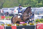 Ros Canter Riding Alister B at Badminton 2017 low 150x100 - Jumping at Home with Ros Canter