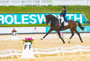 CHARLOTTE DUJARDIN and Mount St John Freestyle take the honours 360x245 - Charlotte's in Irresistible Form at Bolesworth International