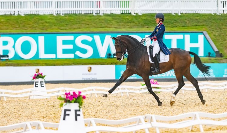 CHARLOTTE DUJARDIN and Mount St John Freestyle take the honours 750x440 - Charlotte's in Irresistible Form at Bolesworth International