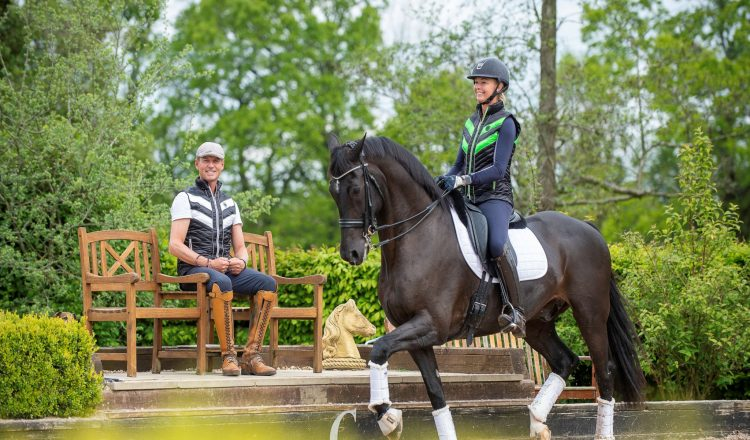 CHC Launch Giveaway Azar Image 750x440 - Win an Azar Quilted Gilet from the Carl Hester Collection