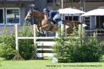 Joss Williams 150x100 - Leicestershire rider Joss Williams won the Clean Sheet 1.25m Open Championship at the Al Shira'aa Hickstead Derby Meeting on Friday.