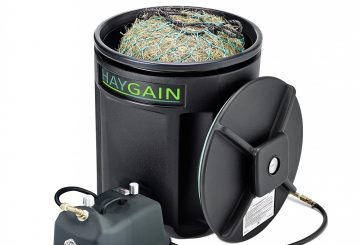 HG ONEv1 360x245 - Try Haygain's revolutionary hay steamers before you buy and see the benefits before committing the cash