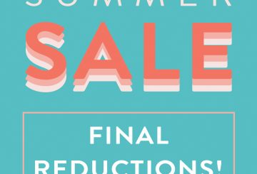 Final Reductions 360x245 - Final reductions on the R&R Country end of line summer sale are now live!!