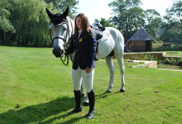 Hollie Truelove 360x245 - 16-year-old Showjumper Selected for Team GB