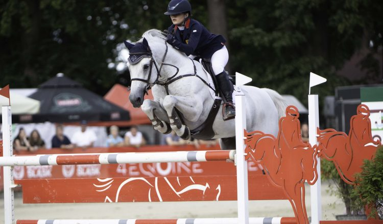Holly Truelove Rexter DOr DSC 4005 750x440 - Brigg's Holly Truelove wins Individual Silver at the Pony European Championships