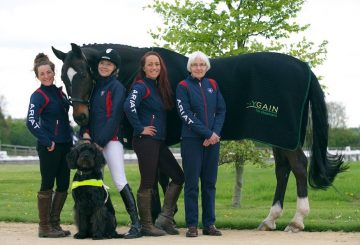 Team Verity 360x245 - Registered blind Dressage rider Verity Smith on her Olympic plans