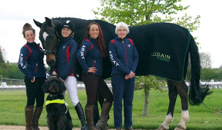 Team Verity 750x440 - Registered blind Dressage rider Verity Smith on her Olympic plans