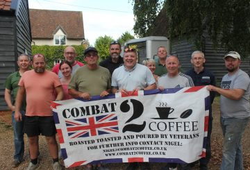 combat 2 coffee horse box to coffee van 5 360x245 - Horse trailer converted to mobile coffee bar for veterans' charities