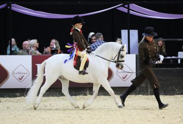 Colne and The Feed Shed Mountain Moorland Mini Pony of the Year Van Der Vaart ridden by Lilly Richardson © 1s... 360x245 - Thistledown Van-Der-Vaart makes HOYS history in the Colne and The Feed Shed Mountain & Moorland Mini Pony of the Year
