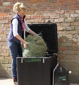 Steamer 2 277x300 - Horse health company Haygain take a look at the ways we can keep our horses happy and comfortable when they are stabled in the winter.