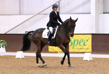 Susan Lanz Wellshead Foxtrot West Somerset RC Pick A Test Winner 360x245 - British Riding Clubs TopSpec Dressage to Music Championships 2019