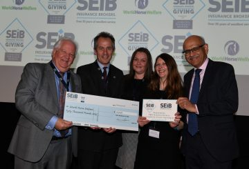 WHW L to R Barry Fehler Roly Owers Suzy Middleton Emma Williams Bipin Thaker Hi Res 360x245 - SEIB Insurance Brokers to grant £50,000 to good causes in 2020