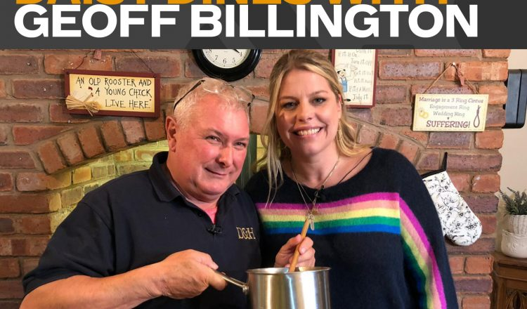 DDW Geoff Billington 750x440 - 'Daisy Dines With…' Geoff Billington This Sunday on Horse & Country!