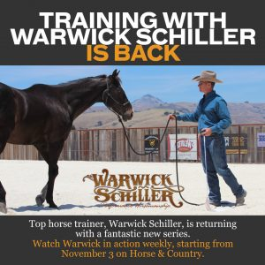 Warwick Schiller 300x300 - 'Training with Warwick Schiller' Back for a New Series on Horse & Country