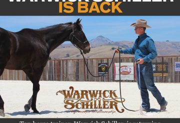 Warwick Schiller 360x245 - 'Training with Warwick Schiller' Back for a New Series on Horse & Country