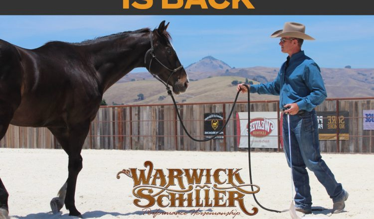 Warwick Schiller 750x440 - 'Training with Warwick Schiller' Back for a New Series on Horse & Country