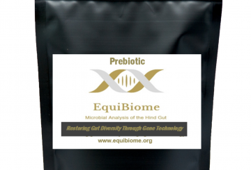 EquiBiome Prebiotic mock up 360x245 - Revolutionary New Prebiotic Launched Following a Decade of Research