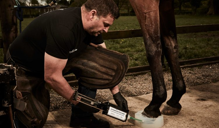 Formahoof Application 111219 750x440 - The future of hoof care is coming to the UK