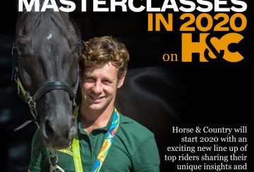 Masterclass 360x245 - Top Riders to Host New Monthly Masterclasses on Horse & Country Throughout 2020