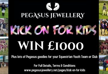 Pegasus kick on for kids 360x245 - Win £1000 for your team or club with Pegasus Jewellery's new #kickonforkids campaign!