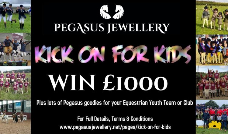 Pegasus kick on for kids 750x440 - Win £1000 for your team or club with Pegasus Jewellery's new #kickonforkids campaign!
