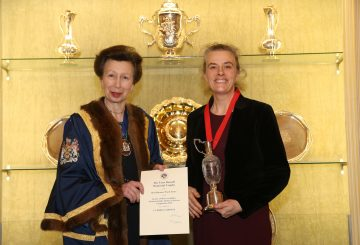 4299 HRH Catrien Coppens Best Harness 360x245 - HRH The Princess Royal Attends Society of Master Saddlers' National Saddlery Competition
