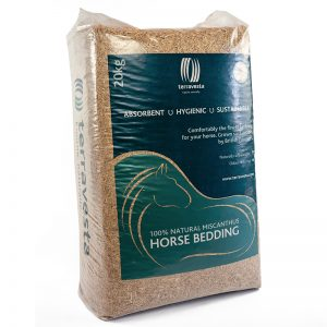 Terravesta Equine 02 300x300 - The Eventing Spring Carnival converts to Miscanthus horse bedding